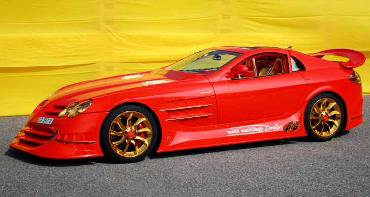 Mercedes-Benz SLR McLaren999 Red Gold Dream Ueli Anliker